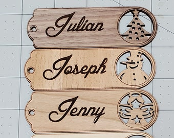 Premium wooden gift tags