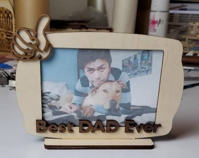 Fathers Day LIKE picture frame