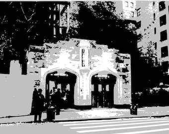 NYC landmark - 184th station of A