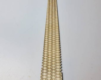 Wood flexible tie