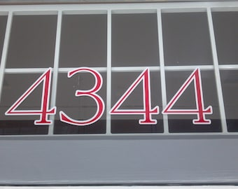 Address sign / numbers sign / street sign / address vinyl / office numbers / Phone number / vinyl decal / mailbox / residential