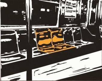 NYC landmark - Subway Seats