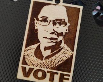 RBG VOTE ornament