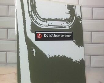 NYC landmark - Subway doors