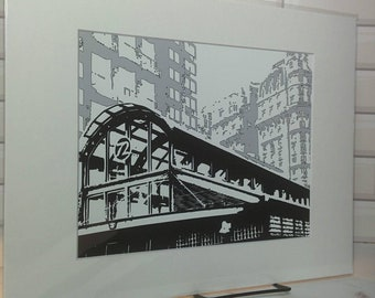 NYC landmark - 72 nd Street Subway station