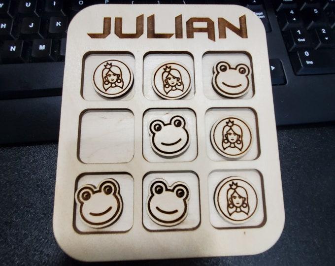 Personalized Tic Tac Toe board