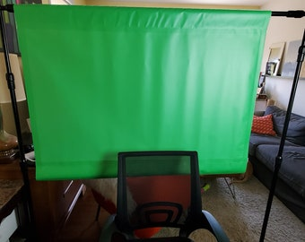 Vinyl Banner Green screen Zoom backdrop (Free Shipping)