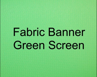 Fabric Banner Green screen Zoom backdrop (Free Shipping)