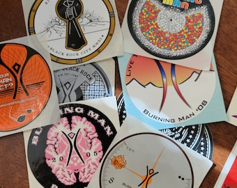 Round full color stickers
