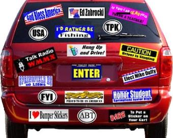 Bumper Sticker full color
