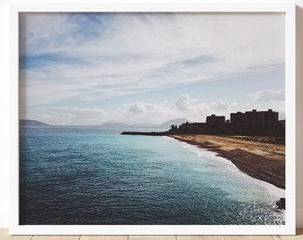 Sicily Art Print | Palermo Fine Art Photography Print | Travel & Nature Photography | Wall Art | Sicily | Travel Lover | Beach Art