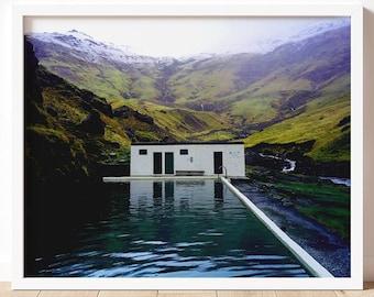Seljavallalaug |  Iceland Fine Art Photography Print | Nature Photography Wall Art | Iceland Wall Art | Iceland Art Prints | Iceland