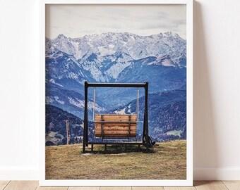 Garmisch | Germany Fine Art Photography Print | Travel & Nature Photography | Wall Art | Mountain Art | Garmisch-Partenkirchen