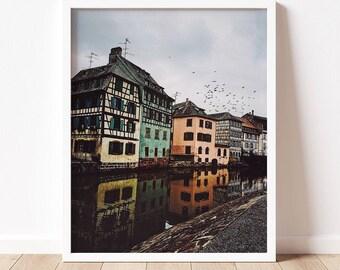 Strasbourg | Fine Art Photography Print | French Art Print | Travel Photography | Wall Art | Multiple Sizes | France | Europe