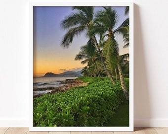 Paradise Cove | Fine Art Photography Print | Travel & Nature Photography | Wall Art | Paradise Cove Beach | Colorful | Hawaii Art | Oahu
