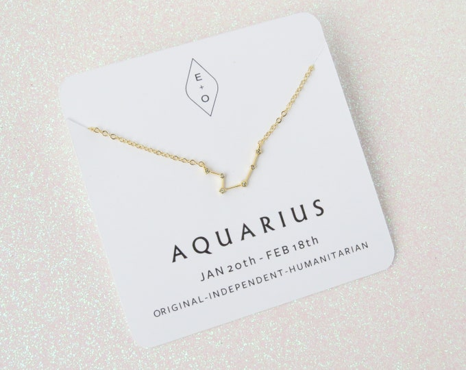 Featured listing image: Constellation Necklace Gold