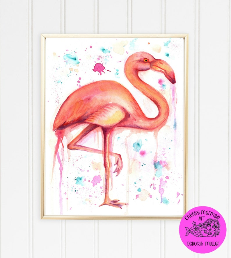 picture about Flamingo Printable known as Fast Obtain Artwork in the direction of print Flamingo, printable artwork. beach front artwork, seashore decor, tropical, red flamingo, electronic artwork