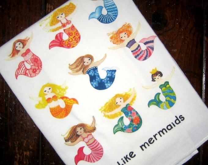 Mermaids Kitchen Towel