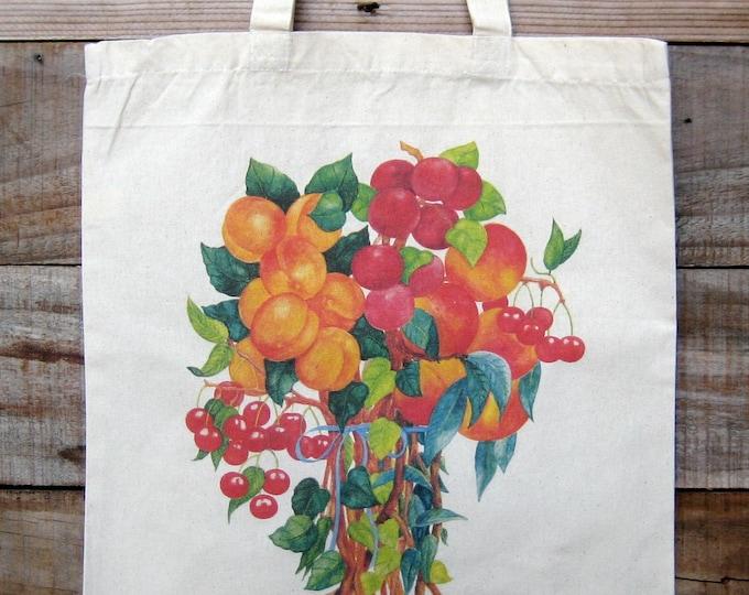 Fruit Bouquet Market Tote
