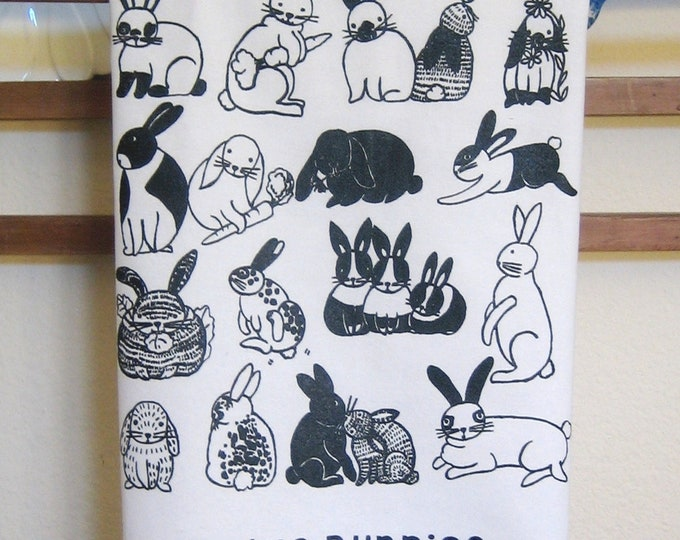 Bunnies Kitchen Towel