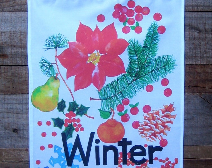 WINTER Banner/Kitchen Towel