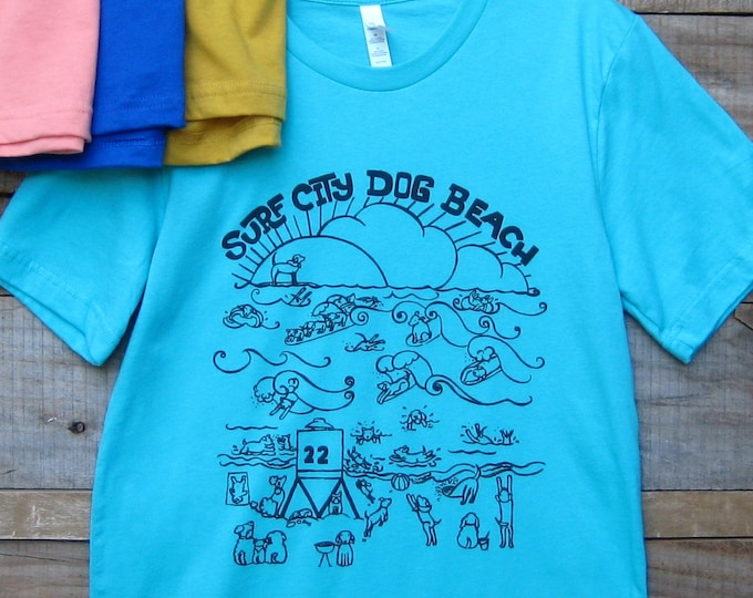 Dog Beach Unisex T Shirt
