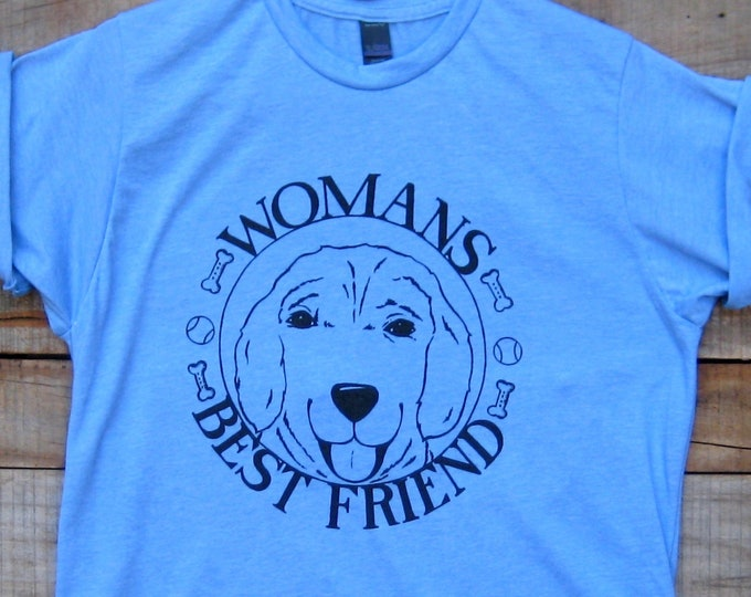 Womens Best Friend Unisex T Shirt