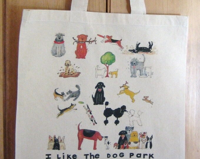 I Like the Dog Park Tote Bag