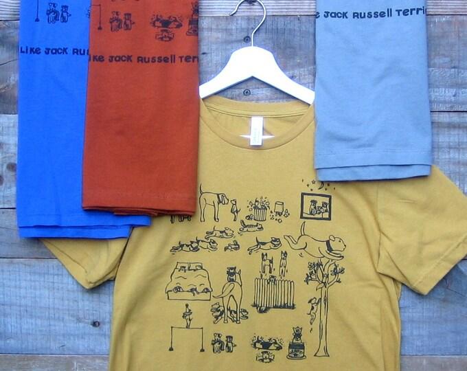 Jack Russell Terrier Unisex T Shirt