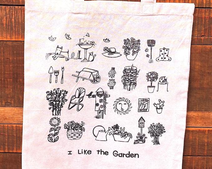 Garden Market Tote