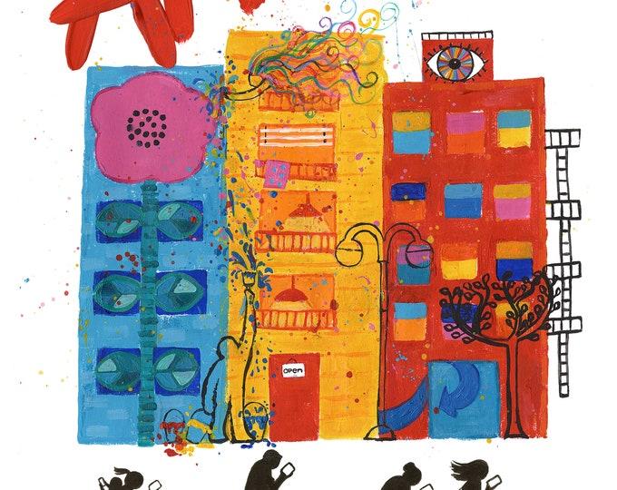 ART Don't Miss it..11 X 14 .print