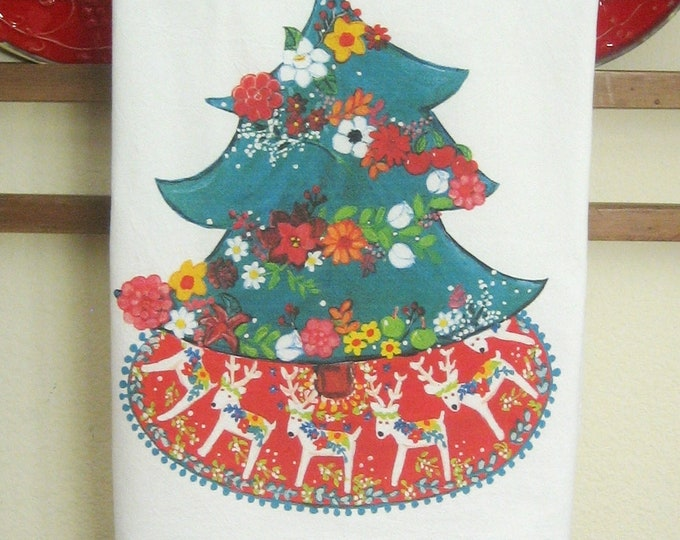 CHRISTMAS Tree Kitchen Towel