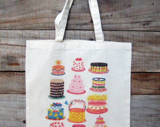 Cake Lovers Market Tote
