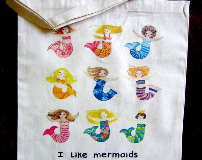 Mermaids Market Tote Bag