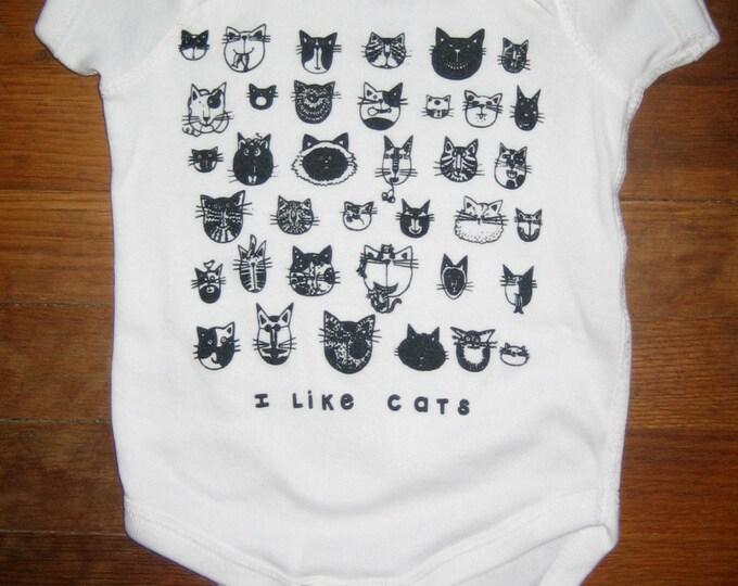 CATS Baby Bodysuit