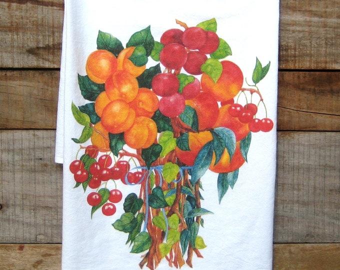 Fruit Bouquet Kitchen Towel