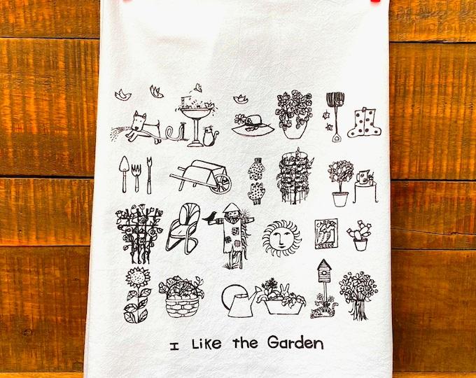 Garden Kitchen Towel