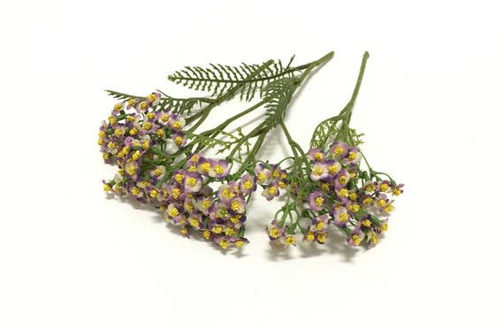 3 stems lavender artificial forget me not blossom clusters etsy image 0 mightylinksfo