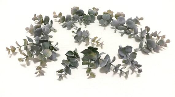 1 Set Kunststoff Kunstliche Eukalyptus Stiele Kunststoff Etsy