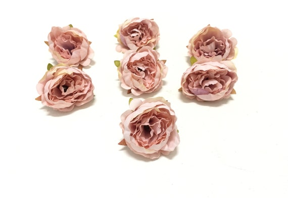 7 dusty blush pink artificial mini peonies artificial etsy image 0 mightylinksfo