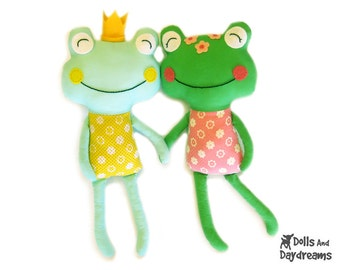 Frog Sewing Pattern PDF - Fairytale Prince