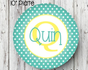 Personalized Name Plate Birthday Plate Personalized Melamine Plate Kids Dinner Plate Toddler dinnerware Birthday plate melamine plate  sc 1 st  Etsy & Kids melamine plates | Etsy