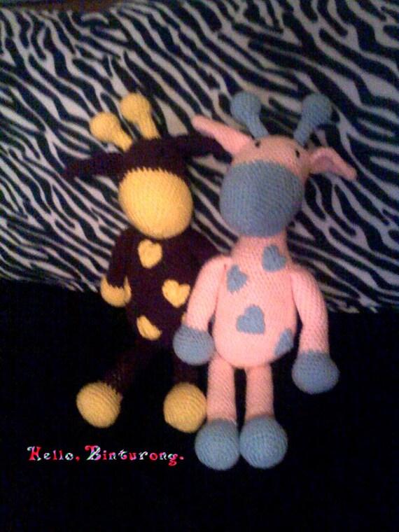 9 Adorable Crochet Giraffe Amigurumi Free Pattern | 760x570