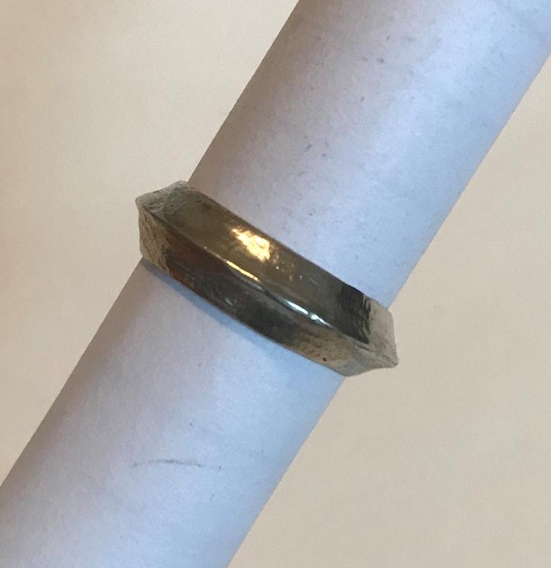 The /'Desert/' sterling silver ring