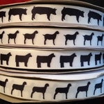"Stock show Animal Grosgrain 7/8"" inch Ribbon"