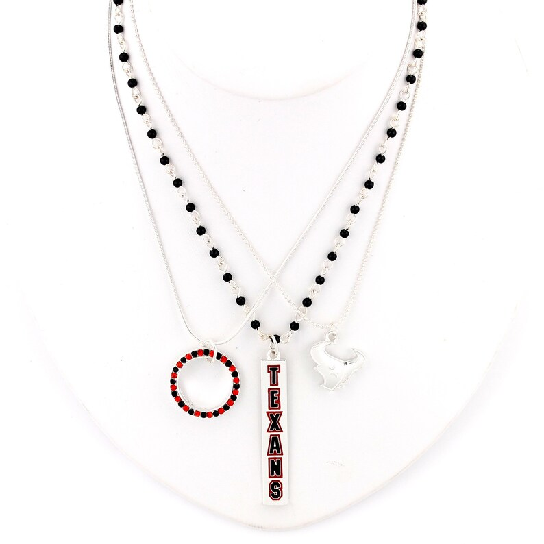 Houston Texans Trio Necklace Set image 0