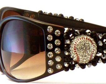 Baseball Bling Sunglasses