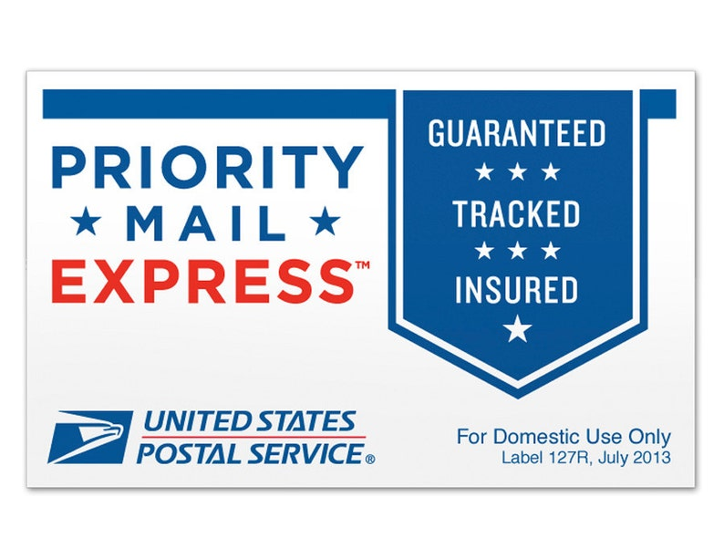 Priority Mail Express Shipping Upgrade image 0