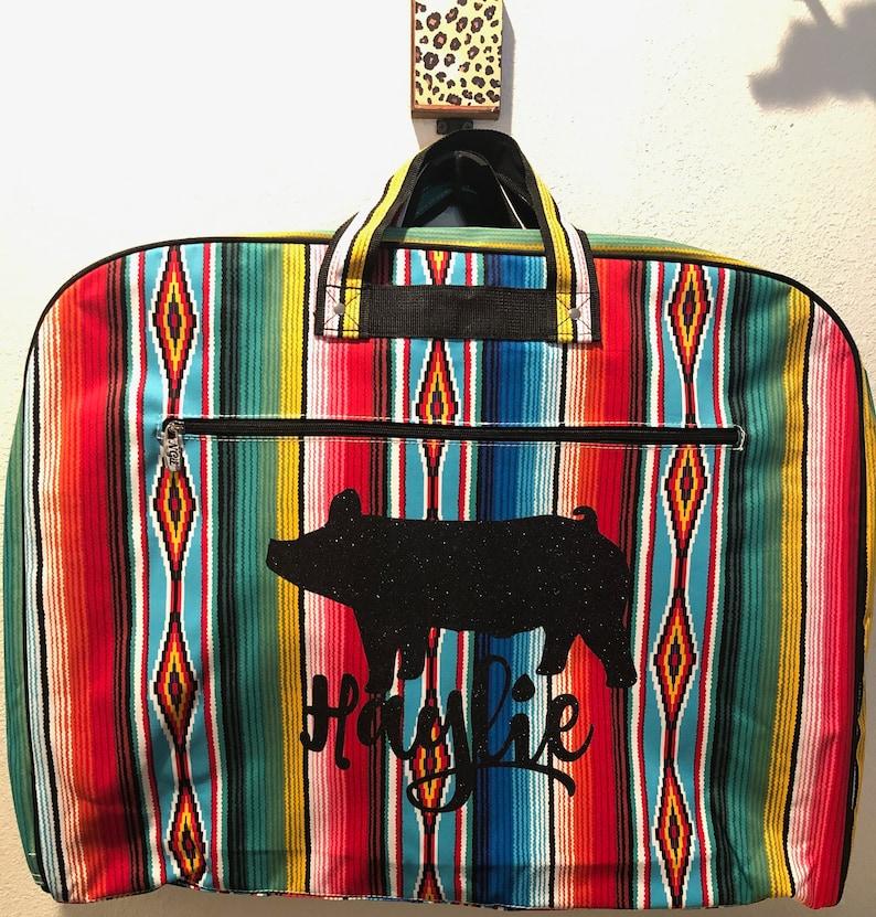 Serape Stockshow Animal Garment Bag image 1