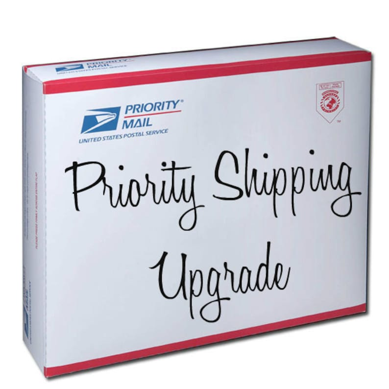 Priority Shipping Upgrade image 1